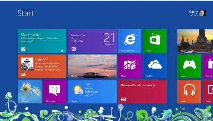 Windows  8 - Startmenü