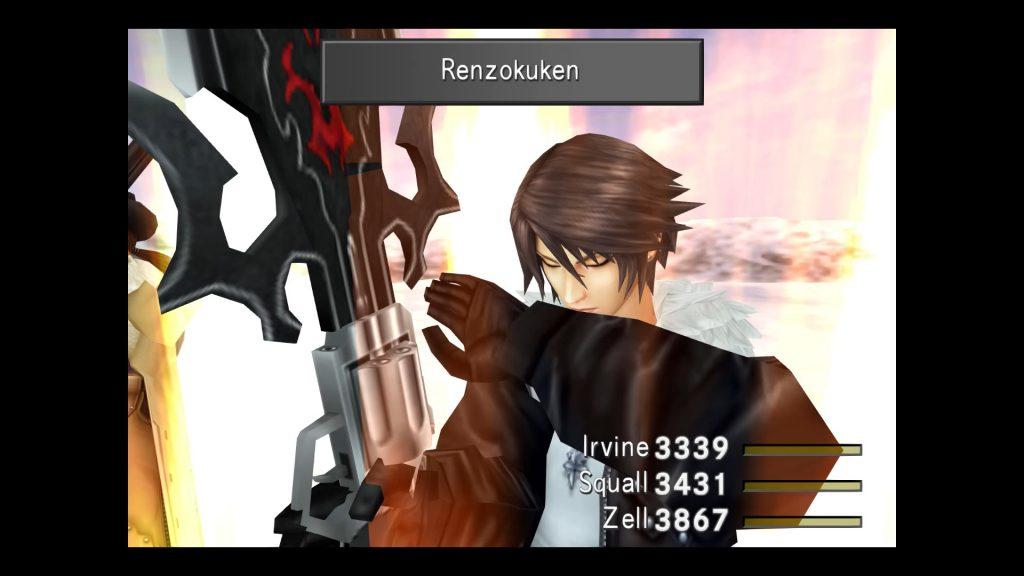 Final Fantasy 8 überarbeitet