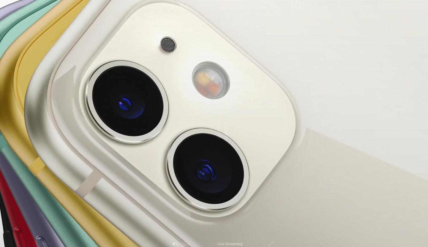 Das £ 800 iPhone 11 ist mit einem dualen Rückfahrkamerasystem ausgestattet