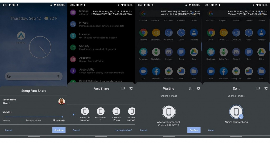Fast Share Android 10