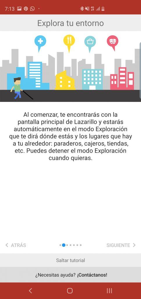 Lazarillo-Anwendung