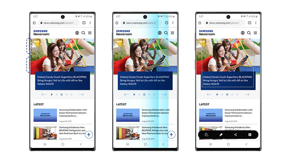 Dinge, von denen Sie vielleicht nicht wissen, dass Sie sie mit Ihrem tun könnten Galaxy Note10 und Note10 + - Samsung Newsroom Lateinamerika 2