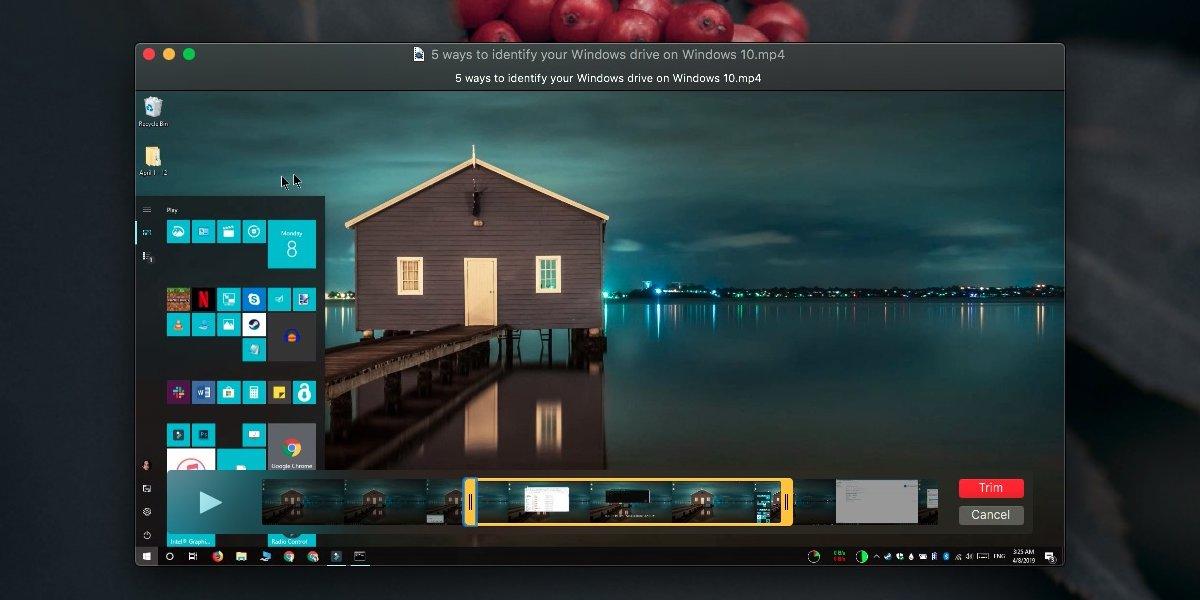 So schneiden Sie Videos unter macOS mit QuickTime 2