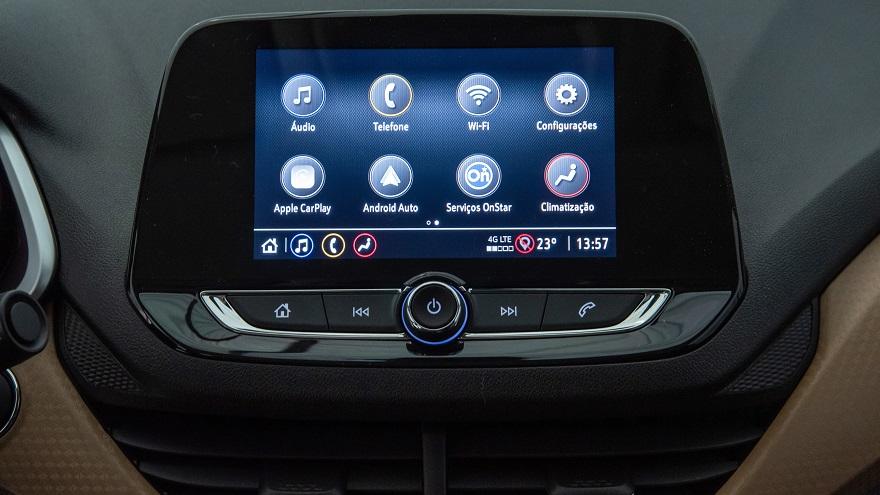 Los nuevos Chevrolet Onix y Onix Plus, con WiFi y un nuevo motor 11