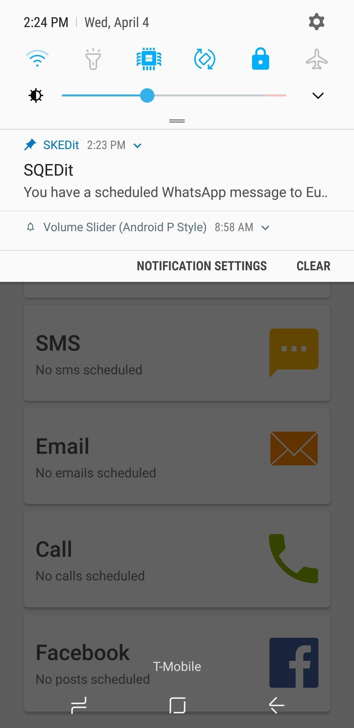 Automatische Whatsapp Nachricht