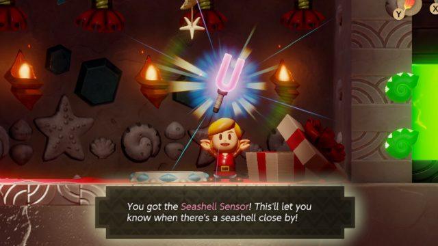 Zelda Links Awakening Remake Geheime Muschelschauplätze