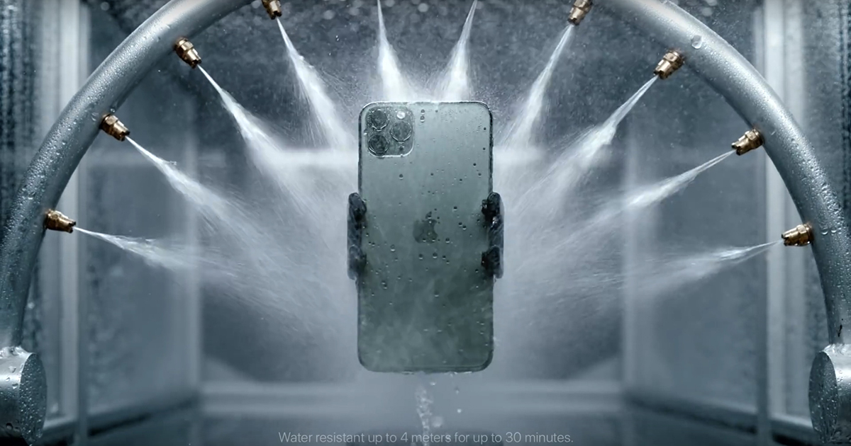 iPhone 11 pro agua