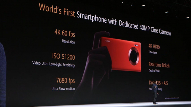 Možnosti videa Huawei Mate 30 Pro (tlačová konferencia 19. septembra 2019 v Mníchove) c) Areamobile