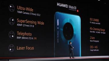 Špecifikácia kamery Huawei Mate 30 (tlačová konferencia 19. septembra 2019 v Mníchove) c) Areamobile