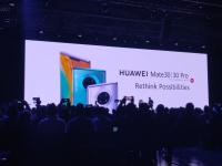 Na tlačovej konferencii v Mníchove 19. septembra 2019 predstavil generálny riaditeľ Huawei Richard Yu novú sériu Mate 30.  c) Areamobile