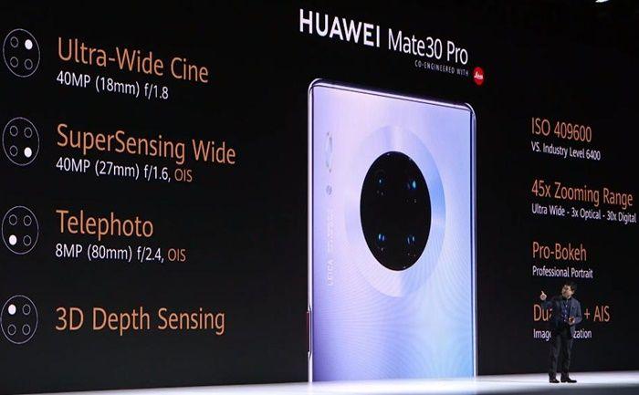 "Huawei Mate 30 Pro Kameras ""Breite ="" 700 ""Höhe ="" 433"