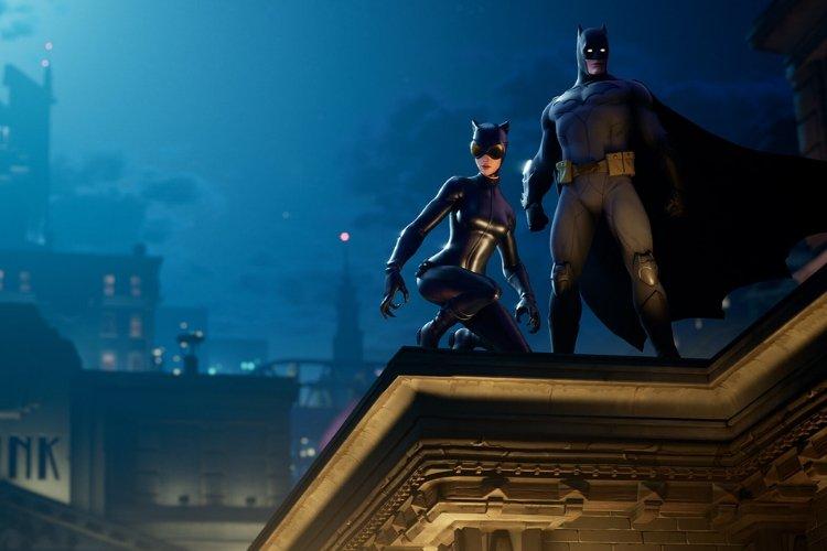 Batman- und Catwoman-Skins