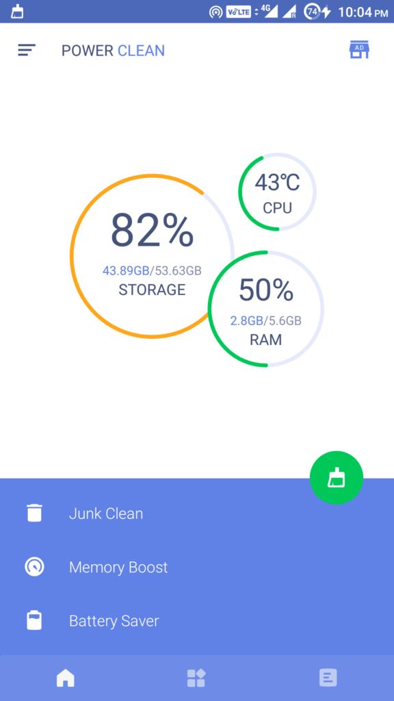 1 10 Besten Android Cleaner Apps Zum Loschen Von Ram Und Cache Im Jahr 2019