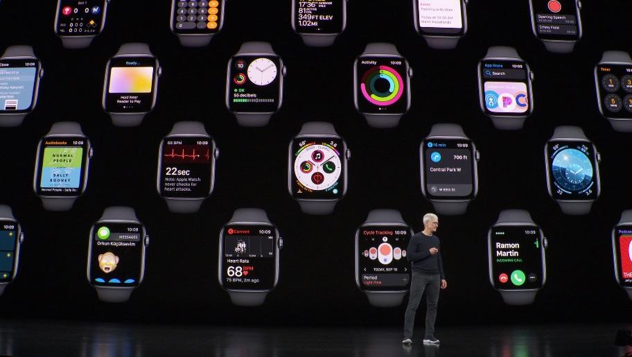 Apple Watch Seriyanın konturları 5 yeni saatın serialdan olmadığını göstərir 4 eynidir
