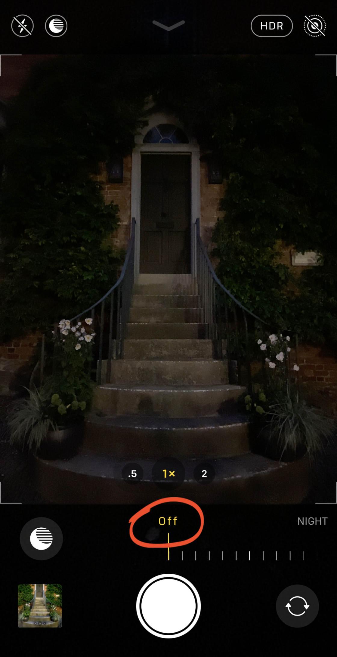 iphone nachtmodus kamera