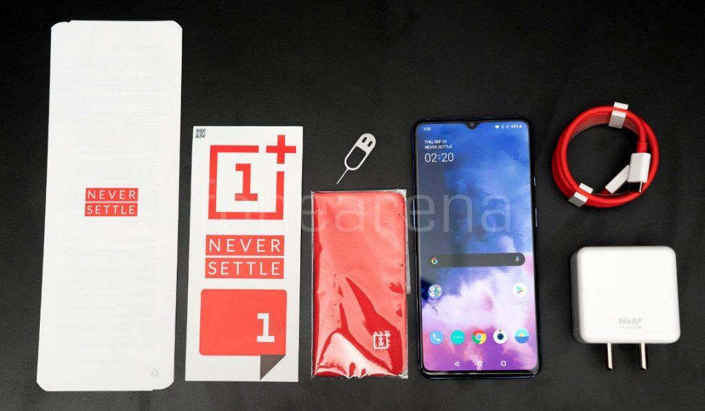 OnePlus 7T Unboxing und erste Eindrücke 2