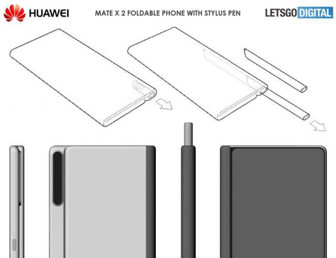 Huawei Mate X2 patentiert mit Stylus im Mix; Hier ist was wir wissen 2