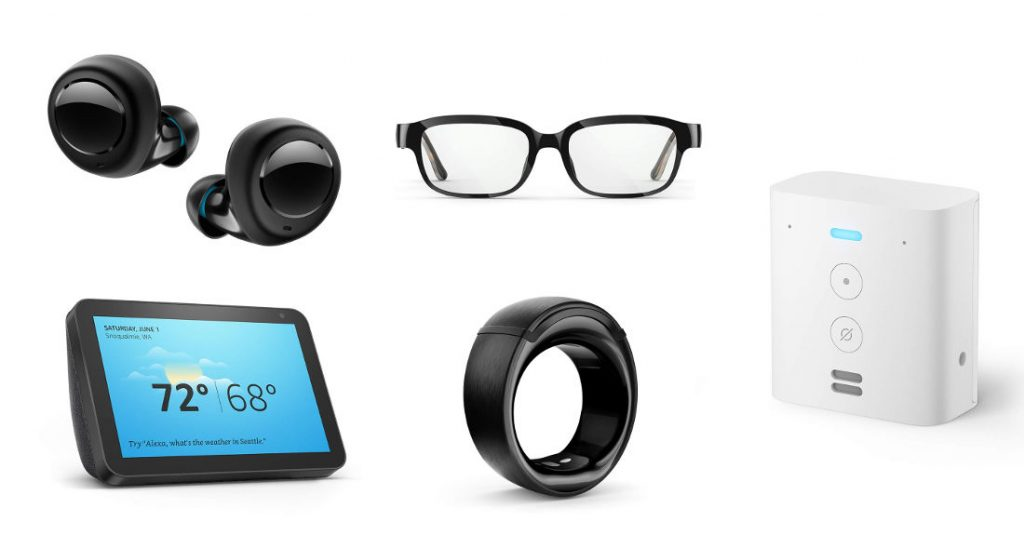 Amazon Echo Buds, Echo Loop Smart Ring, Echo Frames Brille, Echo Flex und Echo Show 8 Smart Display mit Alexa angekündigt