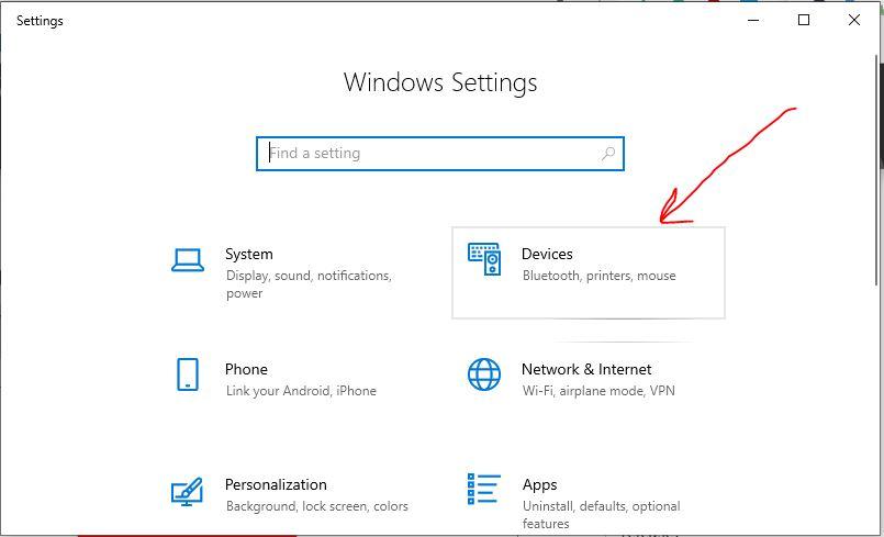 Öffnen Windows 10 Einstellungen