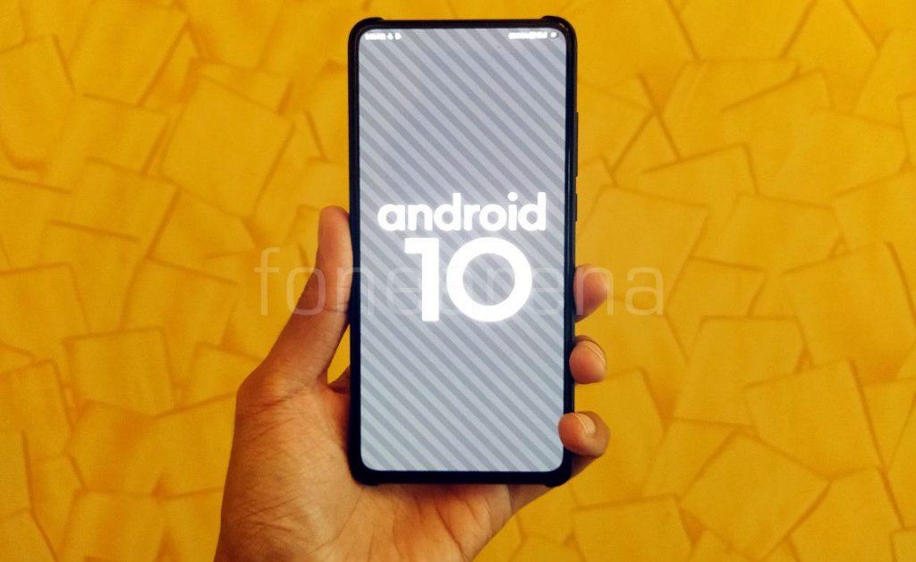 Android 10-baserte MIUI 10 - nye funksjoner og først se på Redmi K20 Pro 1