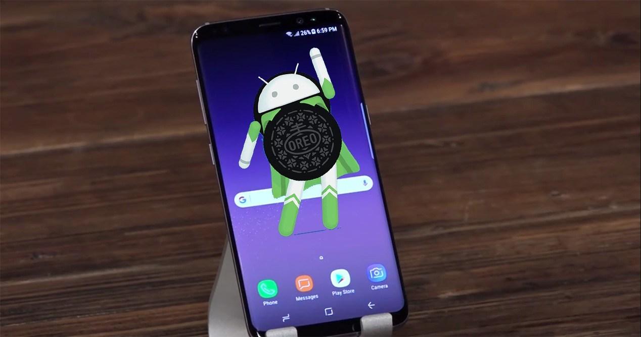 Android 8.0 Samsung üçün Galaxy S8 1