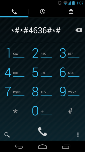 Android Secret Dial Codes - Liste von 32 Android-Codes 1