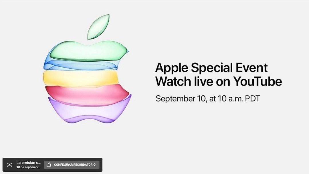 Apple wird die Keynote zum ersten Mal in übertragen YouTube 1