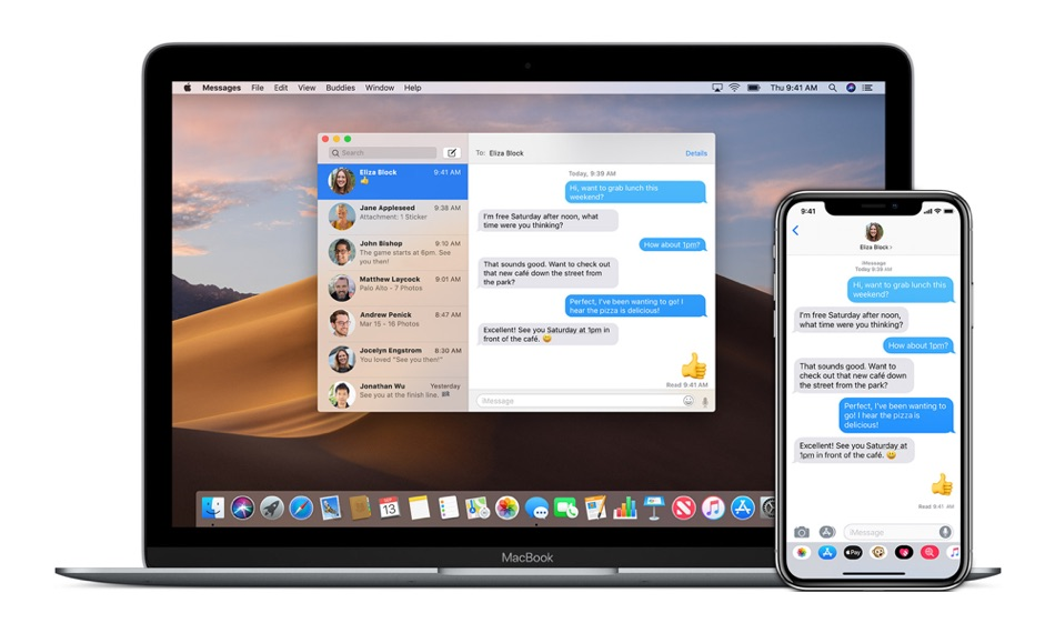 Ausschalten von iMessage auf Mac und iPhone