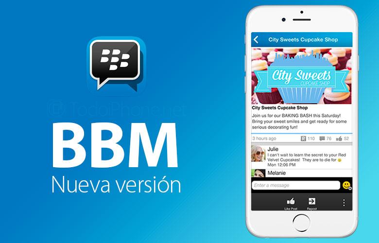 BBM Protected ist auch in BBM für iPhone verfügbar 1
