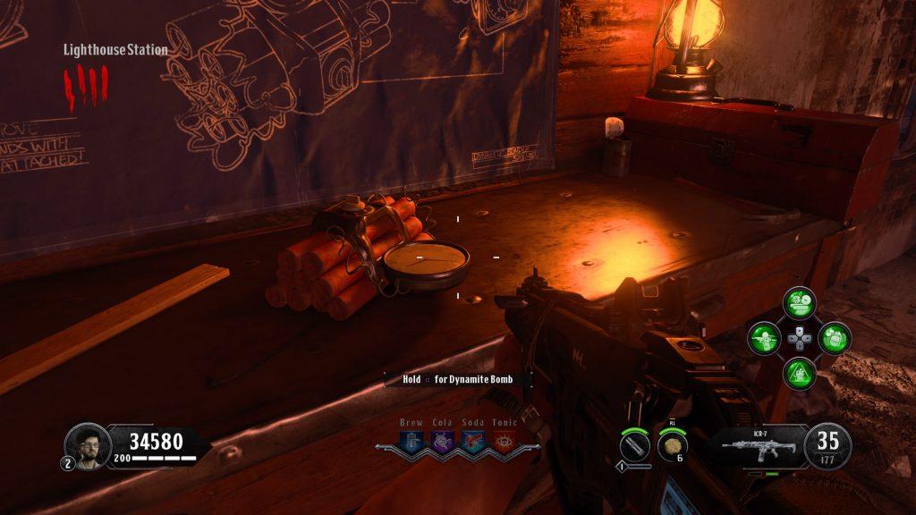 Black Ops 4 Zombies: Tag Der Toten - Wie man Dynamitbomben herstellt und 'X' Barrieren zerstört 1