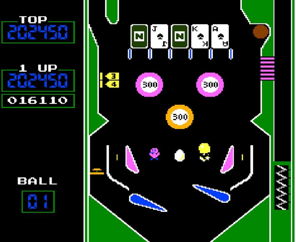 Das dieswöchige Release von Arcade Archives ist NES Pinball for Nintendo Switch