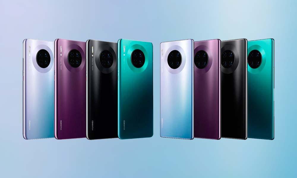 Huawei Mate 30 30 Pro-Kameras