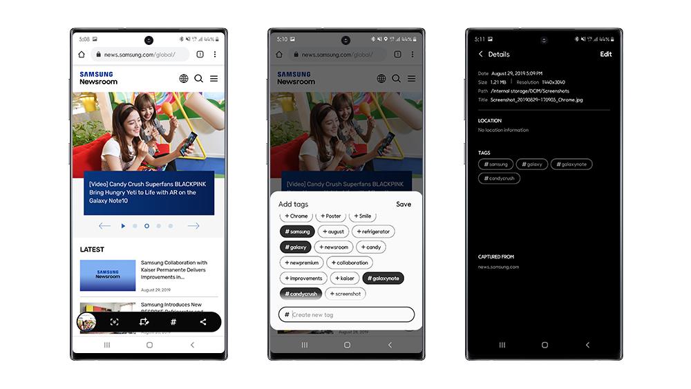 Dinge, von denen Sie vielleicht nicht wissen, dass Sie sie mit Ihrem tun könnten Galaxy Note10 und Note10 + - Samsung Newsroom Lateinamerika 1