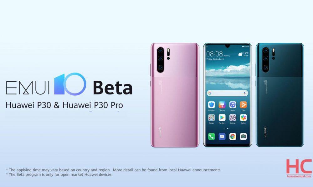 EMUI 10 Beta für Huawei P30 und P30 Pro: Liste der Länder, neuen Funktionen und bekannten Probleme 1