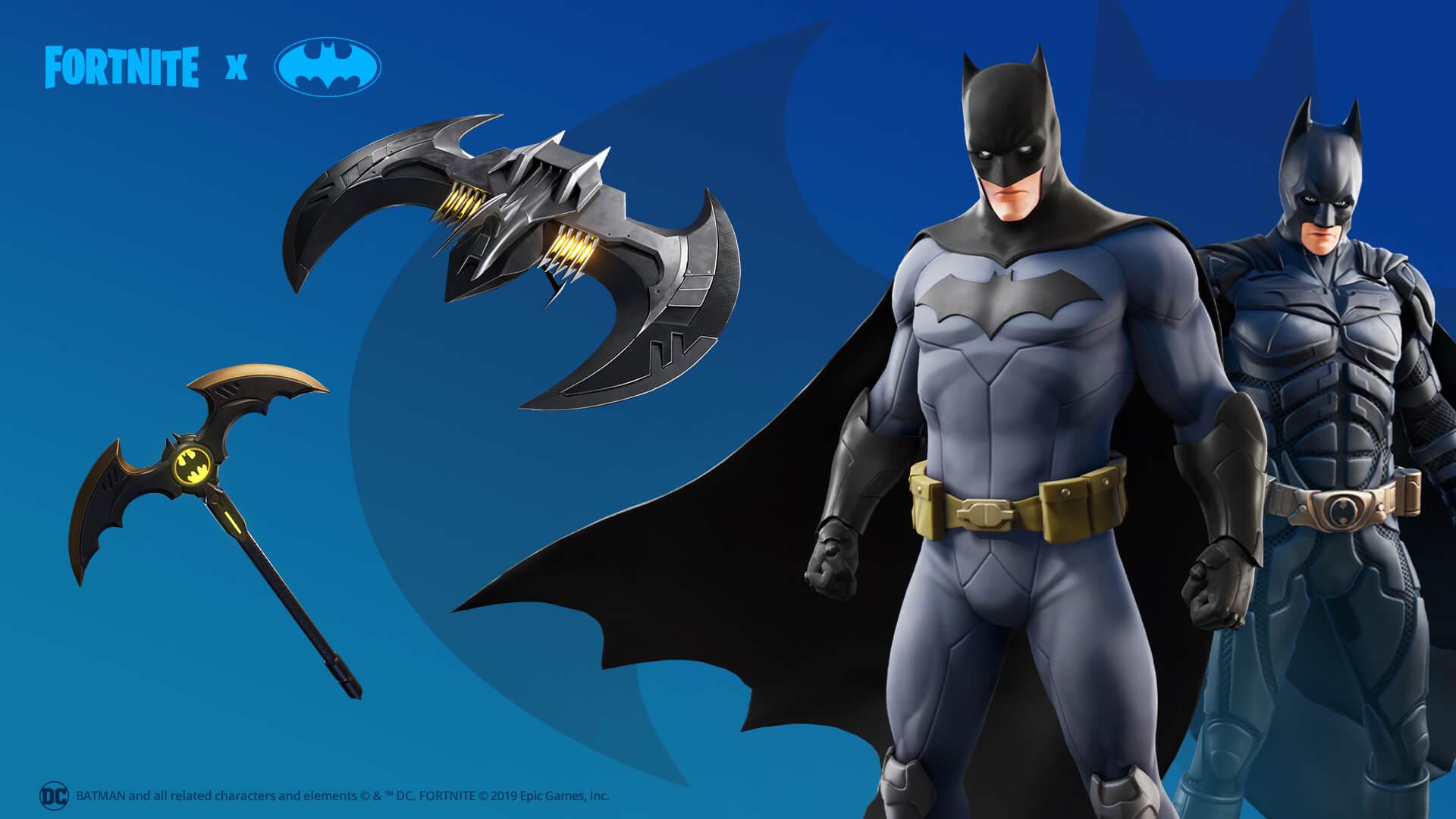 Fortnite er nå Gotham City og Batman overtar 1
