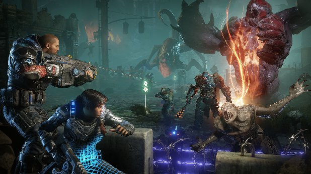 Gears of War 5 Combat Feature Inspiriert von Bioshock Infinite 2