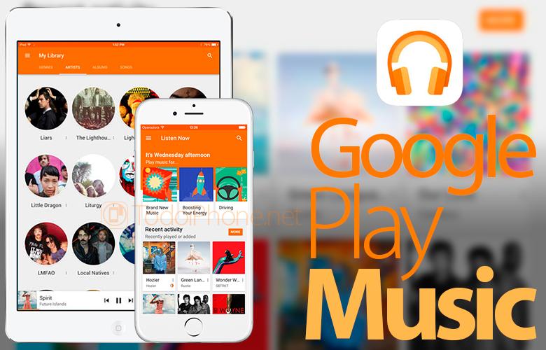 Google Play Music ist jetzt mit dem iPad kompatibel 1