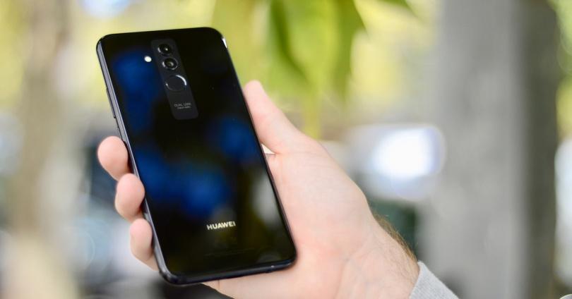 Rückseite des Huawei Mate 20 Lite