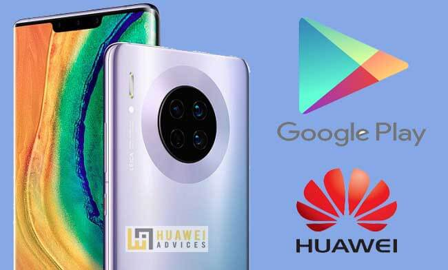 Herunterladen und installieren Google Play Store auf Huawei Mate 30, Mate 30 Pro 1