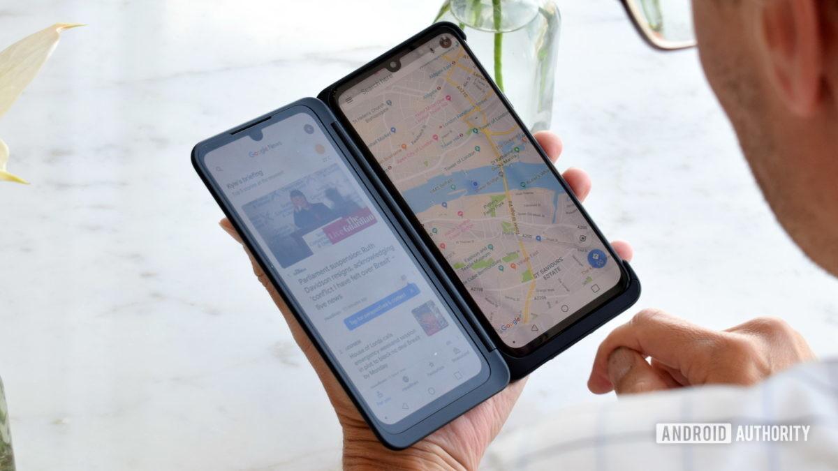 LG G8X ThinQ Dual-Screen-Modus