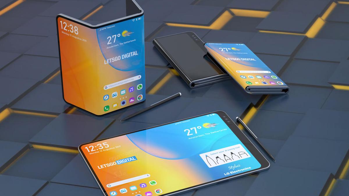LG wird auf der IFA 2019 möglicherweise sein Dual-Folding-Smartphone mit Eingabestift vorstellen 1