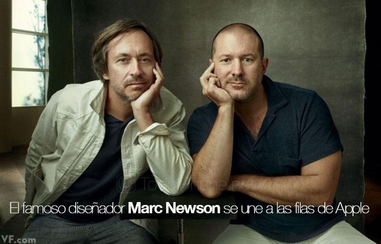 Marc Newson, der berühmte Industriedesigner, verstärkt das Designteam von Apple 1