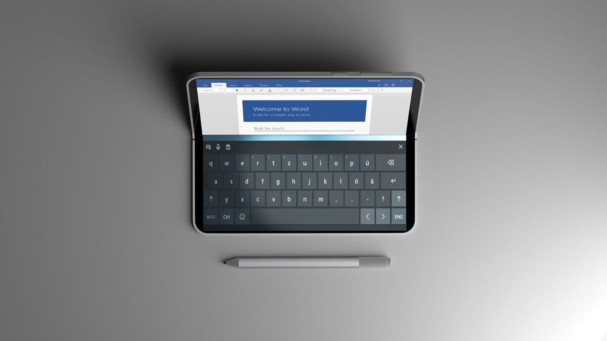 Microsoft flexibles Smartphone-Konzept