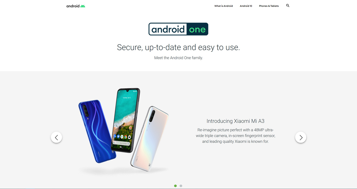 Android One startet neues Logo