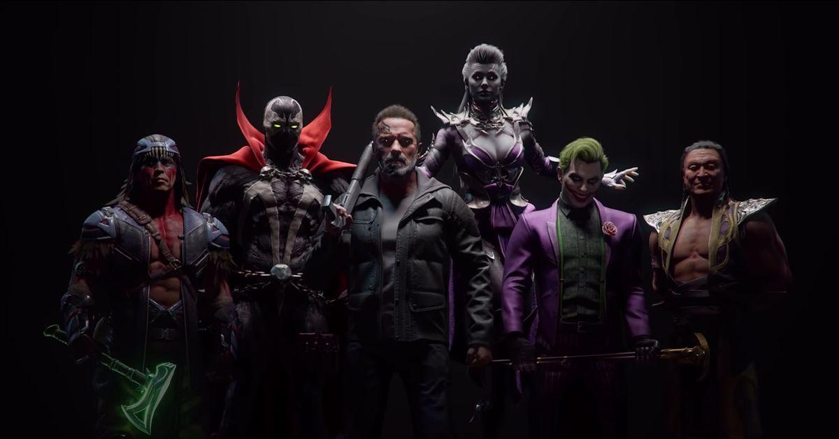 Mortal Kombat 11 Kombat Pack Trailer enthüllt Joker, Terminator, Sindel 1
