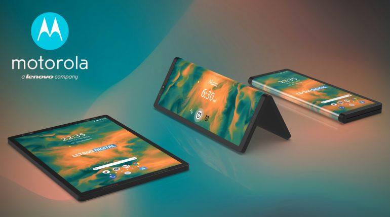 Motorola qatlanabilən telefon patent müraciəti üzərinə sızır 1