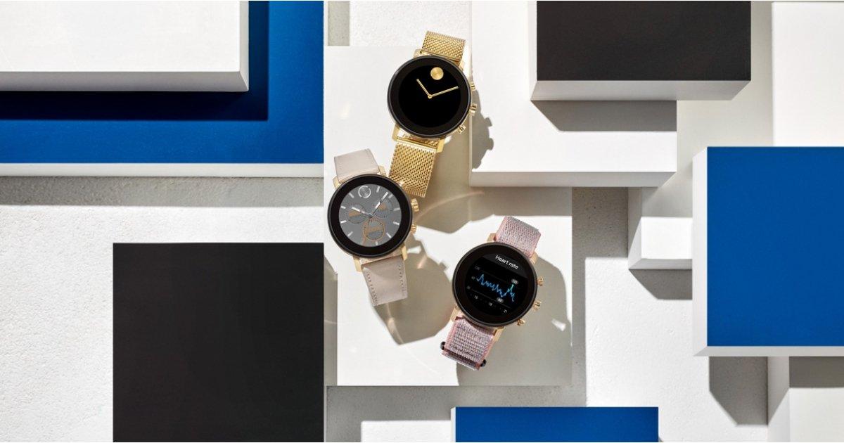 Movado Connect 2.0-Smartwatch mit den neuesten Wear OS-Funktionen