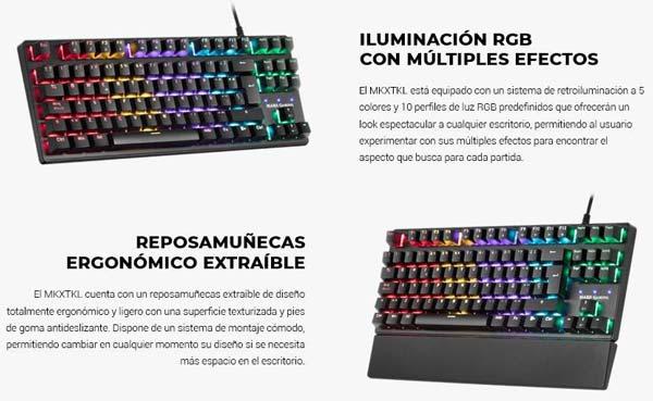 Yeni Mars Oyun MKXTKL klaviaturası 1