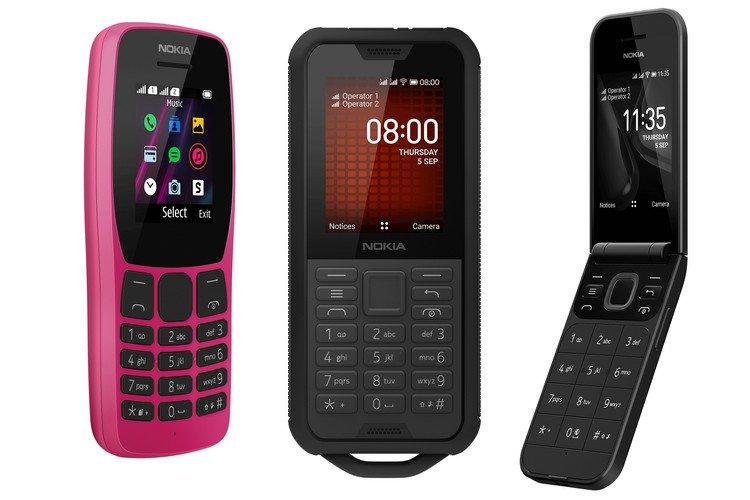 Nokia 110 (2019), 800 Tough, 2720 Flip Feature Phones, vorgestellt auf der IFA 2019 1