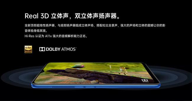 Der OPPO A11x wird mit einem 6,53-Zoll-HD + -Bildschirm geliefert